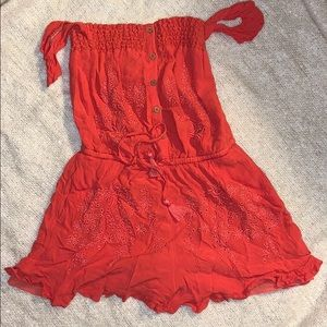 American Eagle Romper SM Long Strapless